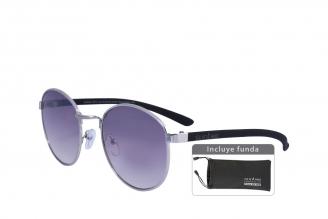Gafas De Sol Sunbox Platinum M1 Policarbonato Color Negro Empaque Con 1 Unidad