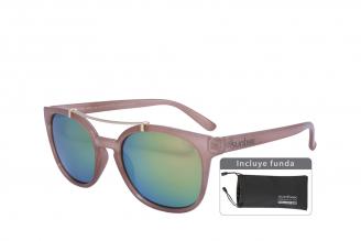 Gafas De Sol Sunbox Aluminum U2 Policarbonato Color Beige Empaque Con 1 Unidad
