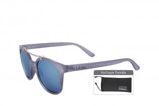 Gafas De Sol Sunbox Aluminum U2 Policarbonato Color Gris Empaque Con 1 Unidad