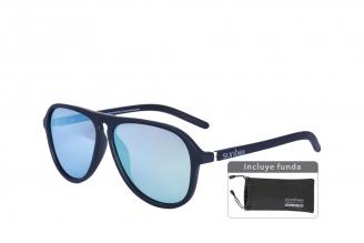 Gafas De Sol Sunbox Platinum F4 Policarbonato Color Negro Empaque Con 1 Unidad
