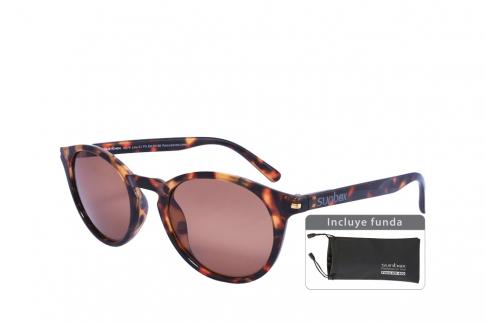 Gafas De Sol Sunbox Maxim U2 Policarbonato Color Carey Empaque Con 1 Unidad