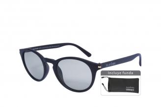 Gafas De Sol Sunbox Maxim U2 Policarbonato Color Negro Empaque Con 1 Unidad