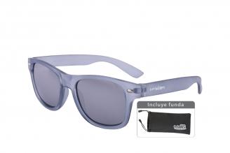 Gafas De Sol Infantiles Suntwister Sporty M2 Policarbonato Color Gris Empaque Con 1 Unidad