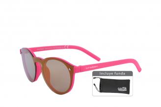 Gafas De Sol Infantiles Suntwister Sporty M1 Policarbonato Color Fucsia Empaque Con 1 Unidad