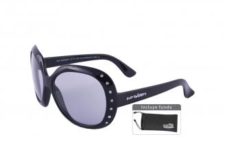 Gafas De Sol Infantiles Suntwister Fashion F3 Policarbonato Color Negro Empaque Con 1 Unidad