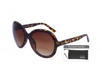 Gafas De Sol Sunbox Maxim F2 Policarbonato Color Carey Empaque Con 1 Unidad
