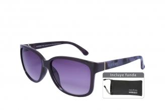 Gafas De Sol Sunbox Platinum F3 Policarbonato Color Negro Empaque Con 1 Unidad