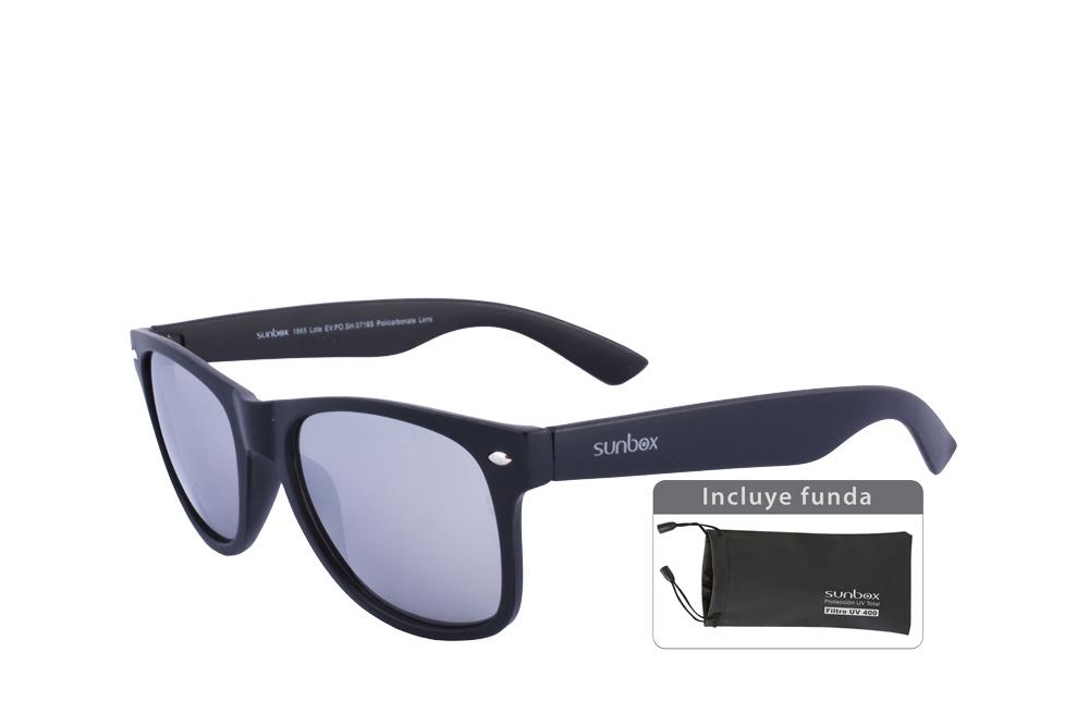 Gafas De Sol Sunbox Maxim F3 Policarbonato Color Negro Empaque Con 1 Unidad