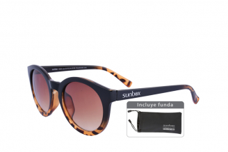 Gafas De Sol Sunbox Style F1 Color Carey Empaque Con 1 Unidad