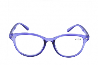 Gafas De Lectura Pregraduadas Zoom To Go Econo +1.25 Color Azul Empaque Con 1 Unidad