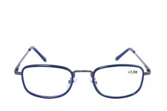 Gafas De Lectura Pregraduadas Zoom To Go Metals +1.50 Color Azul Empaque Con 1 Unidad