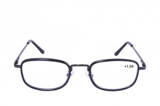 Gafas De Lectura Pregraduadas Zoom To Go Metals +1.50 Color Negro Empaque Con 1 Unidad