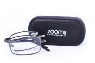 Gafas De Lectura Pregraduadas Zoom To Go Plegable +2.00 Color Negro Empaque Con 1 Unidad