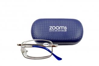Gafas De Lectura Pregraduadas Zoom To Go Plegable +2.00 Color Azul Empaque Con 1 Unidad