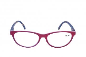 Gafas De Lectura Pregraduadas Zoom To Go Colors +3.50 Color Rojo Empaque Con 1 Unidad