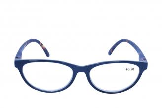 Gafas De Lectura Pregraduadas Zoom To Go Colors +3.50 Color Azul Empaque Con 1 Unidad