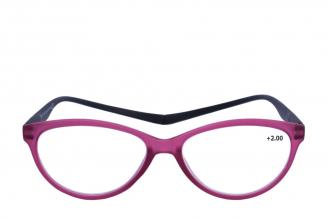 Gafas De Lectura Pregraduadas Zoom To Go Magnetic +2.00 Color Purpura Empaque Con 1 Unidad