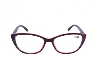 Gafas De Lectura Pregraduadas Zoom To Go Colors +1.00 Color Rojo Empaque Con 1 Unidad