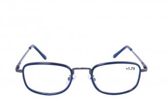 Gafas De Lectura Pregraduadas Zoom To Go Metals +1.75 Color Azul Empaque Con 1 Unidad