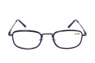 Gafas De Lectura Pregraduadas Zoom To Go Metals +1.75 Color Negro Empaque Con 1 Unidad