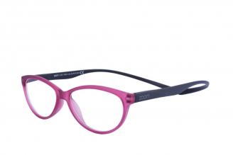 Gafas De Lectura Pregraduadas Zoom To Go Magnetic +2.50 Color Purpura Empaque Con 1 Unidad