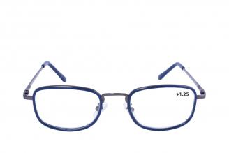 Gafas De Lectura Pregraduadas Zoom To Go Metals +1.25 Color Azul Empaque Con 1 Unidad