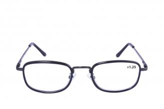 Gafas De Lectura Pregraduadas Zoom To Go Metals +1.25 Color Negro Empaque Con 1 Unidad