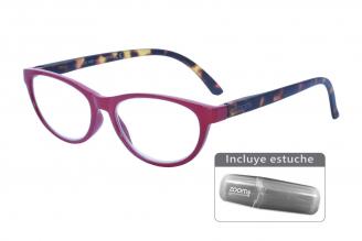 Gafas De Lectura Pregraduadas Zoom To Go Colors +3.00 Color Rojo Empaque Con 1 Unidad