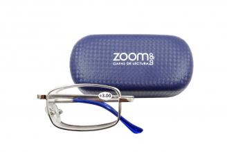 Gafas De Lectura Pregraduadas Zoom To Go Plegable +3.00 Color Azul Empaque Con 1 Unidad