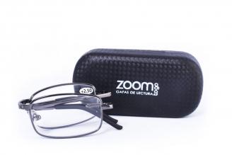 Gafas De Lectura Pregraduadas Zoom To Go Plegable +2.50 Color Negro Empaque Con 1 Unidad