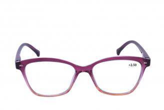 Gafas De Lectura Pregraduadas Zoom To Go Colors +2.50 Color Rojo Empaque Con 1 Unidad