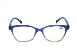 Gafas De Lectura Pregraduadas Zoom To Go Colors +2.50 Color Azul Empaque Con 1 Unidad
