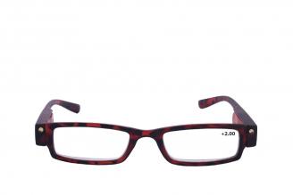 Gafas De Lectura Pregraduadas Zoom To Go Luz Led +2.00 Color Carey Empaque Con 1 Unidad