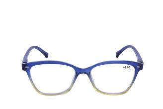 Gafas De Lectura Pregraduadas Zoom To Go Colors +2.00 Color Azul Empaque Con 1 Unidad
