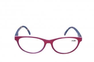 Gafas De Lectura Pregraduadas Zoom To Go Colors +4.00 Color Rojo Empaque Con 1 Unidad