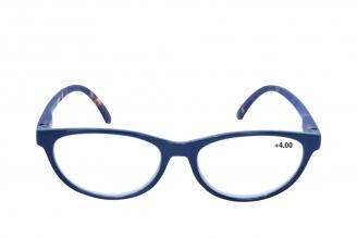 Gafas De Lectura Pregraduadas Zoom To Go Colors +4.00 Color Azul Empaque Con 1 Unidad
