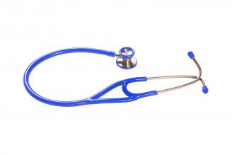 Fonendoscopio Cardiology GMD Color Azul Cerúleo Empaque Con 1 Unidad