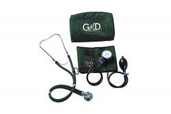 Kit De Tensiómetro Y Fonendoscopio GMD Rappaport Canguro - Verde Oscuro