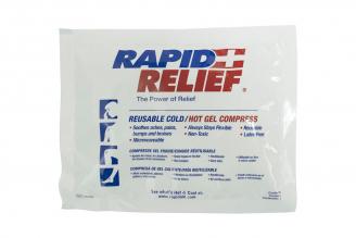 Compresa de Gel Caliente / Fría Reutilizable Con 1 Unidad