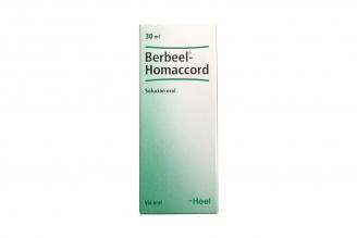 Berbeel-Homaccord Caja Con Frasco Gotero Con 30 mL Rx