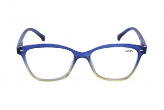 Gafas De Lectura Pregraduadas Zoom To Go Colors +2.25 Color Azul Empaque Con 1 Unidad