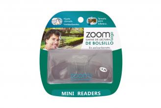 Gafas De Lectura Pregraduadas Zoom To Go De Billetera Aumento +2.50 Empaque Con 1 Unidad