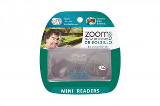 Gafas De Lectura Pregraduadas Zoom To Go De Billetera Aumento +2.00 Empaque Con 1 Unidad