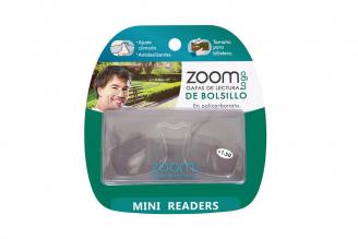Gafas De Lectura Pregraduadas Zoom To Go De Billetera Aumento +1.50 Empaque Con 1 Unidad