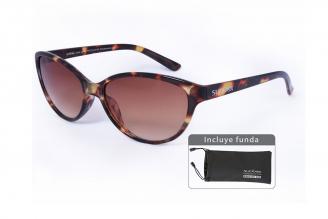 Gafas De Sol Sunbox Style U1 Color Carey Empaque Con 1 Unidad