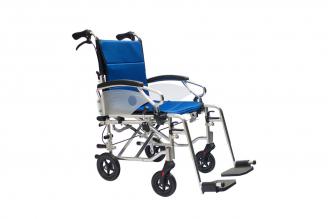 Silla de Ruedas Estándar Y Transporte En Aluminio Konfort Basic