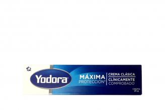Desodorante Yodora Clásico Crema Caja Con Tubo Con 25 g