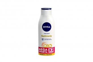 Crema Corporal Nivea Humectante Reafirmante 2 Frascos Con 400 mL -  Mega Oferta