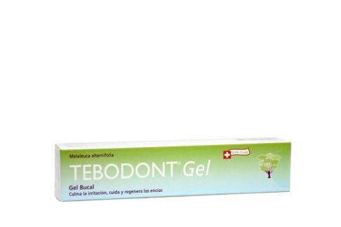 Gel Bucal Tebodont Caja Con Tubo Con 18 mL