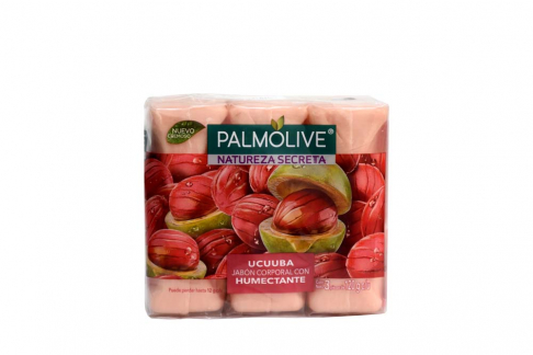 Jabón Cremoso Palmolive Ucuuba Humectante Empaque Con 3 Unidades Con 120 g C/U
